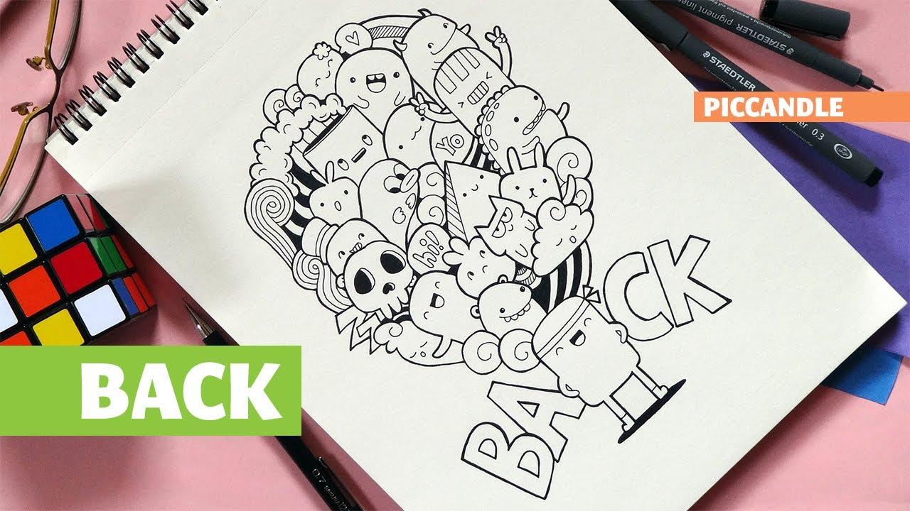 Contoh Gambar Doodle Yang Paling Mudah Kantor Meme – Cuitan