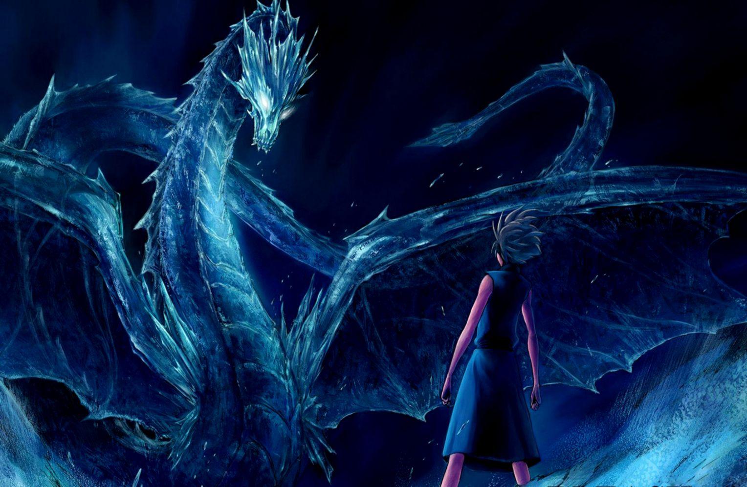 Dreamy Fantasy Outer Space Dragon Creative Wallpaper