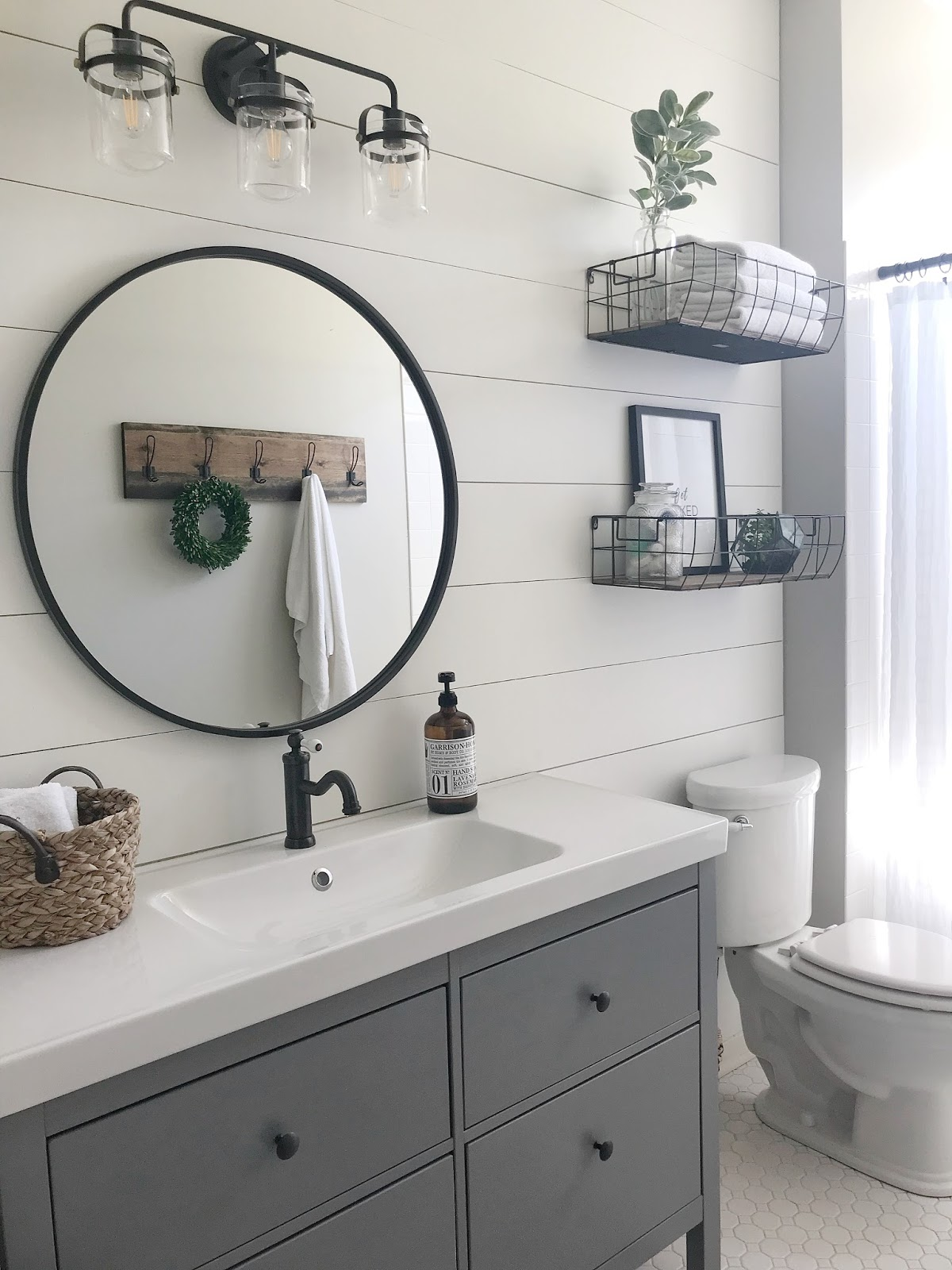 One Room Challenge Reveal Guest Bathroom R Amp R At Home