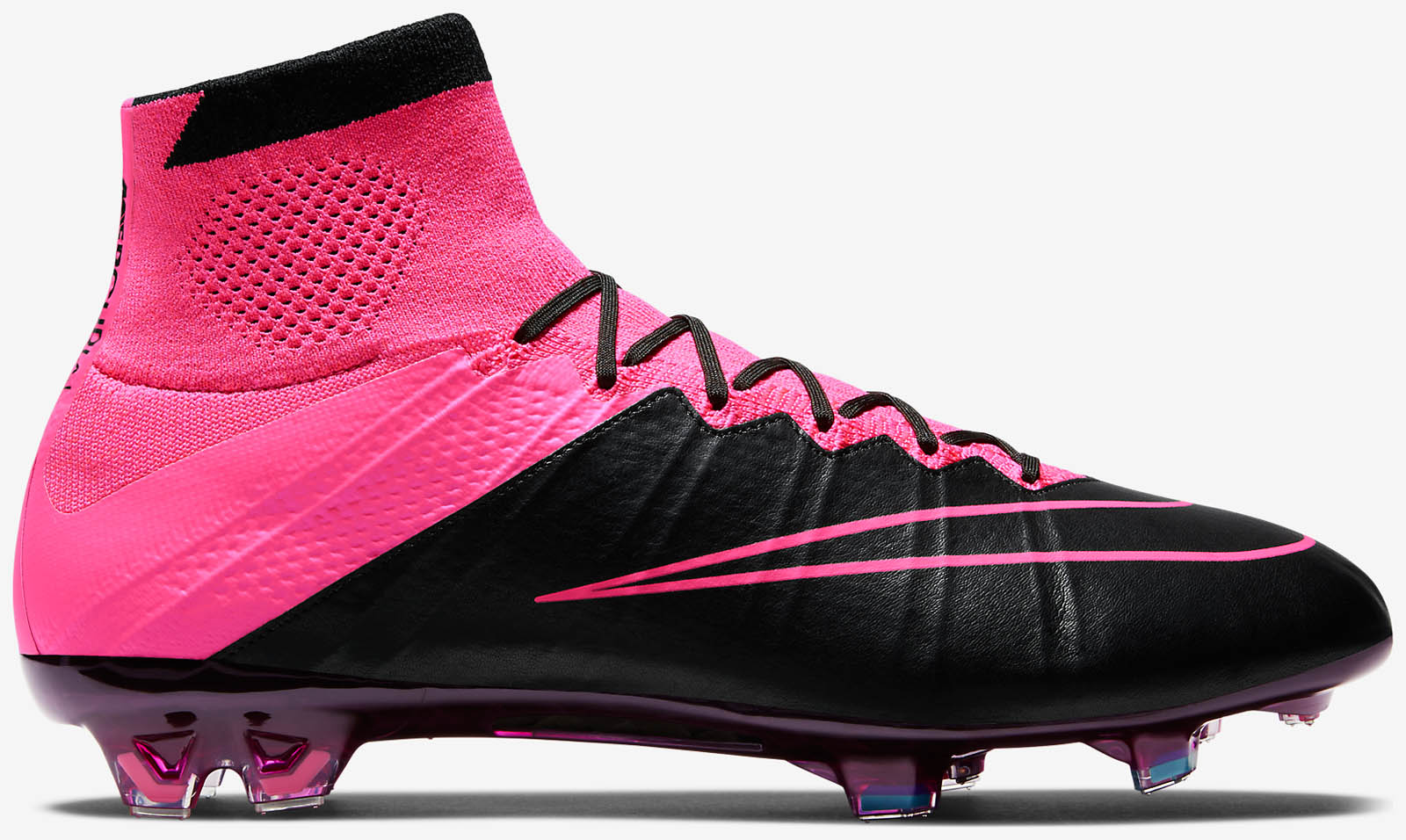 nike mercurial superfly black and leather cleats the. Black Bedroom Furniture Sets. Home Design Ideas