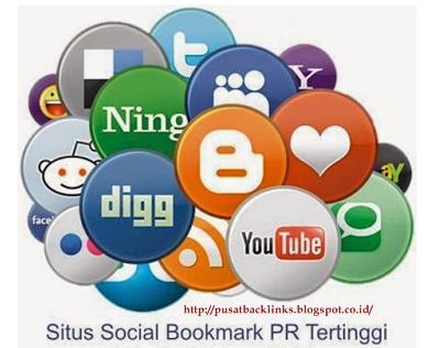 Backlink Berkualitas dari 50 Situs Social Bookmark terbaik PR tinggi