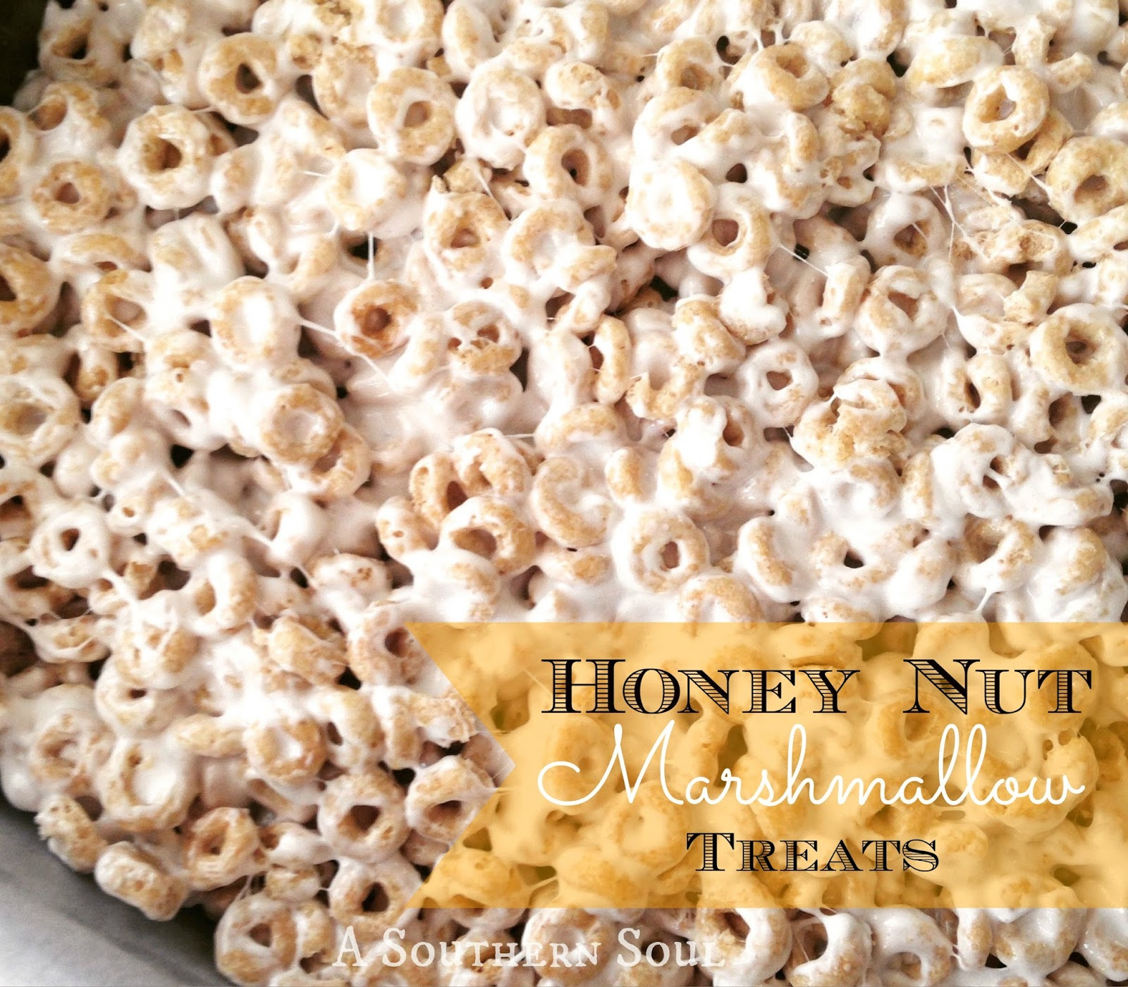 Honey Nut Marshmallow Treats A Southern Soul