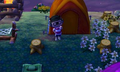 とび森 キャンプ場 勧誘