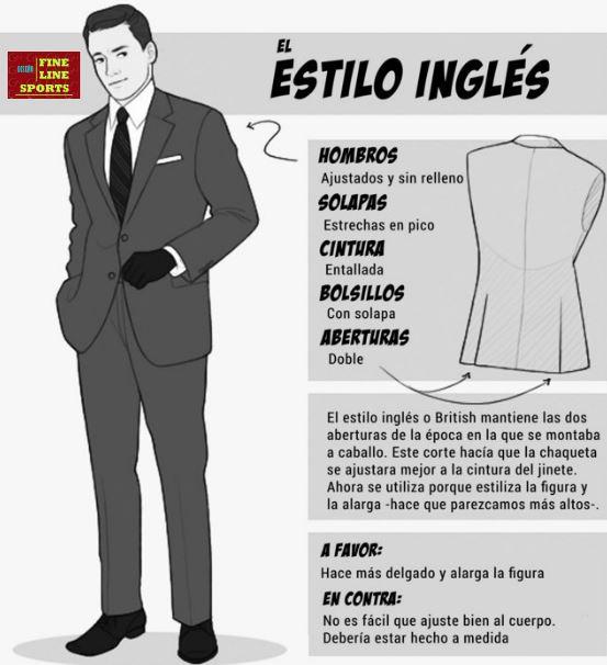 El Estilo Inglés se caracteriza por tener un corte bastante clásico y  sofisticado ea4c0818eb3
