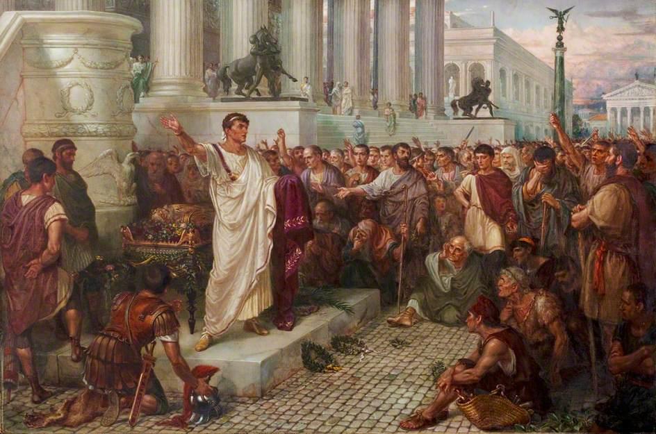 Η εξωτερική εμφάνιση και η ηθική του Ιουλίου καίσαρα