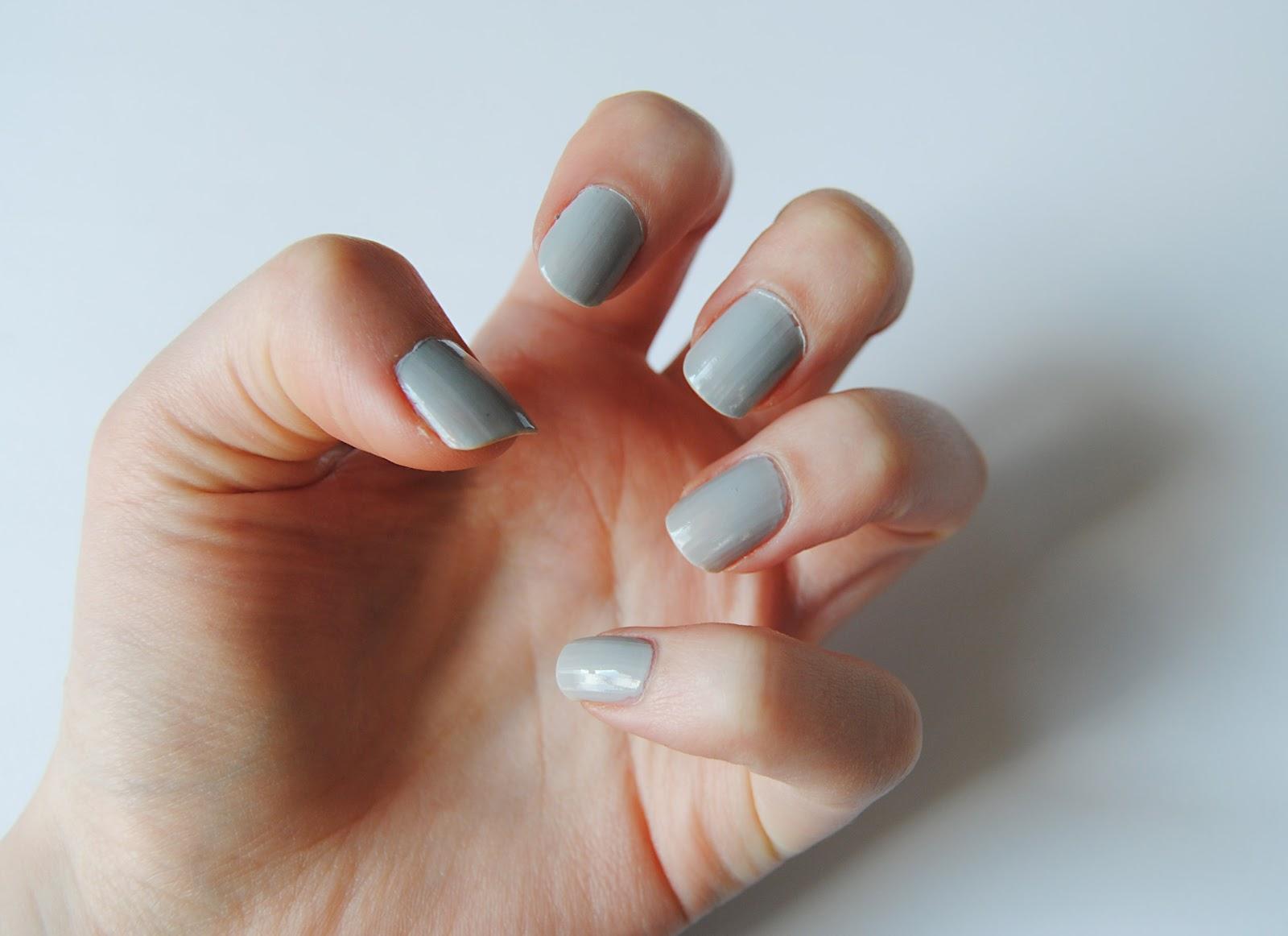 DIY Half Moon Nails | Hello Gwen