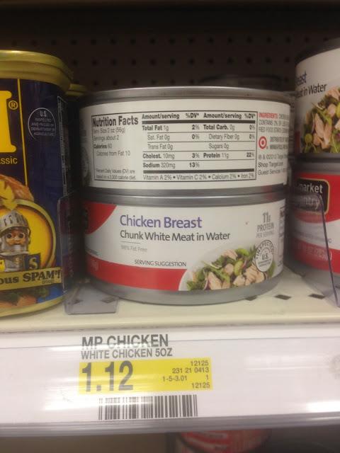 Chicken Breast, Market Pantry, 5 oz - Target