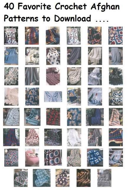 40 Favorite Crochet Afghan Patterns to Download