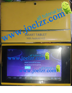 Hard Reset Smart tablet with Android 4.0