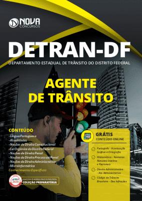 Apostila Concurso DETRAN DF 2020 Agente de Trânsito Grátis Cursos Online