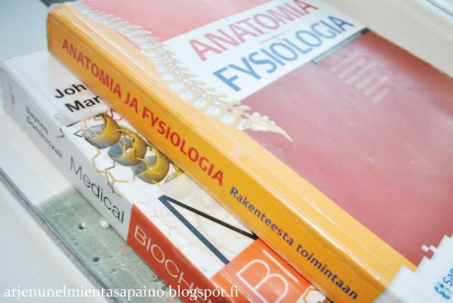 opiskelumateriaalit, anatomia, biokemia, lääkis, opinnot