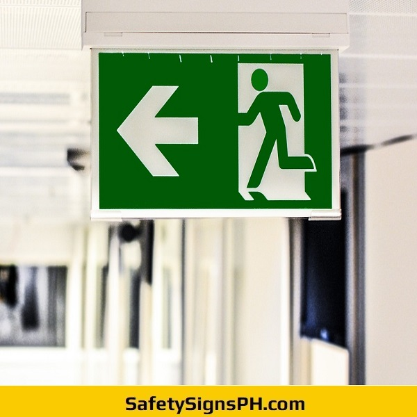 LED Lighted Fire Exit Sign Philippines