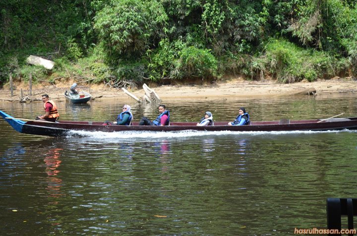 Lubuk Simpon, Sungai Tahan Taman Negara Pahang