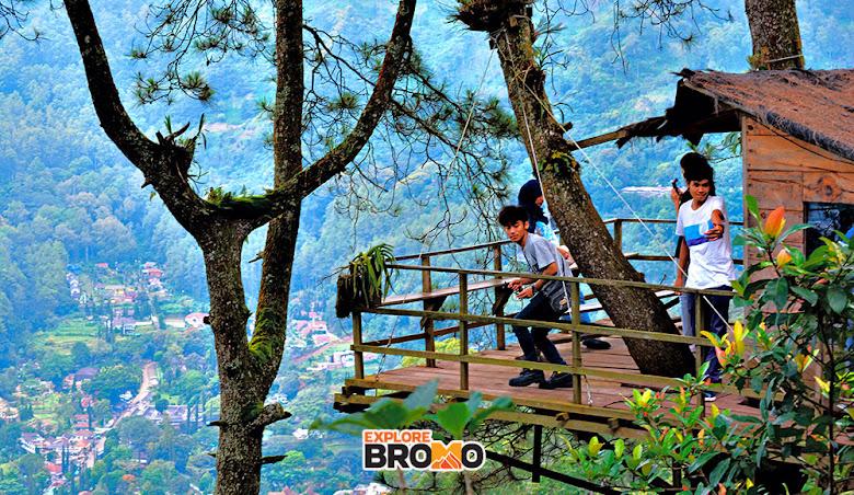 Omah Kayu di Batu, melengkapi fasilitas wisata alam di kota batu