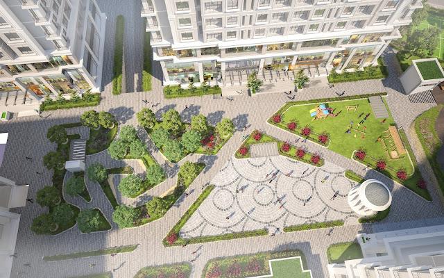 Cảnh quan dự án Iris Garden