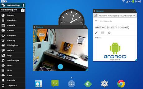Aplikasi Multitasking untuk Android