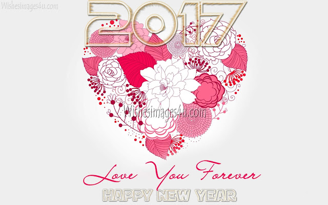 Happy New Year 2017 Love Background Wallpapers