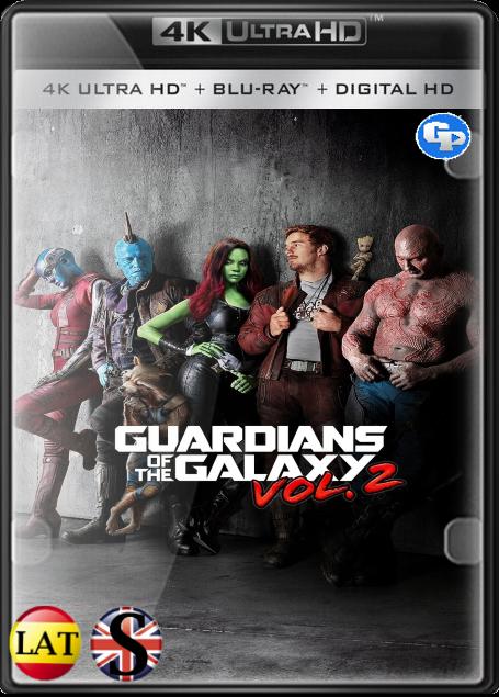Guardianes de la Galaxia Vol. 2 (2017) 4K UHD LATINO/INGLES