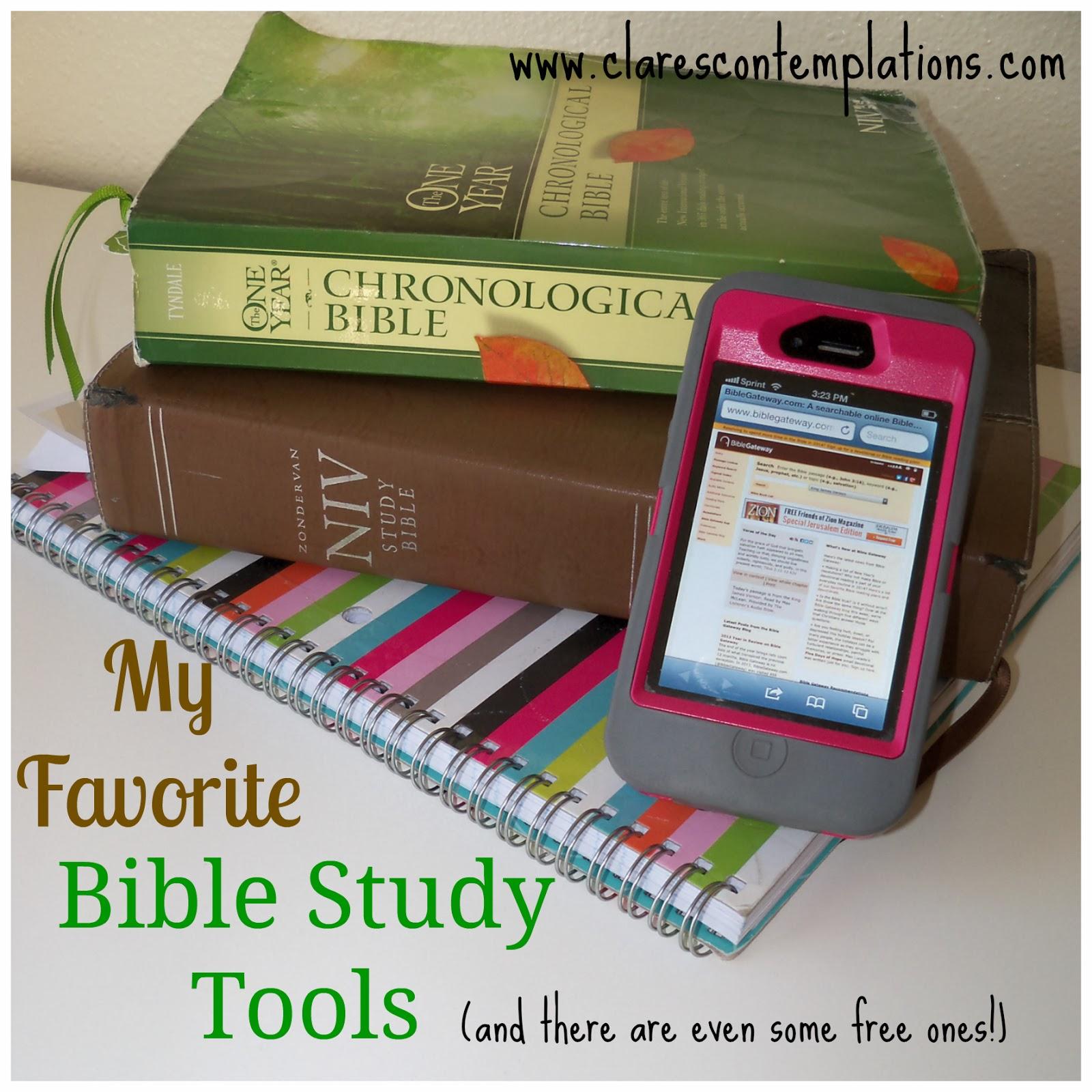 http://www.clarescontemplations.com/2014/01/my-favorite-bible-study-tools.html