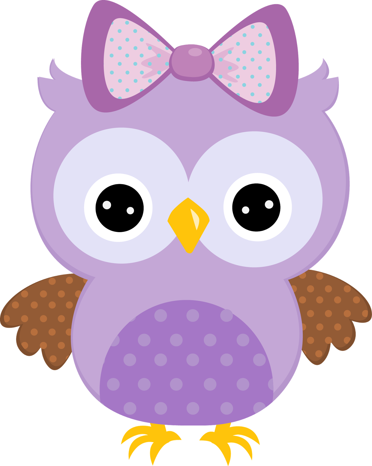 Quinceanera Owls in Colors Clipart. | Oh My Quinceaneras!