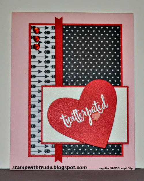 trude thoman, stampwithtrude, valentine, You Plus Me, Stampin' Up!