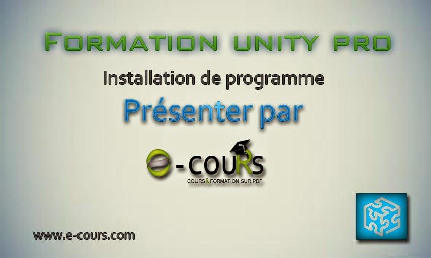 Télécharger cours programmation unity pro PDF | int,compteur