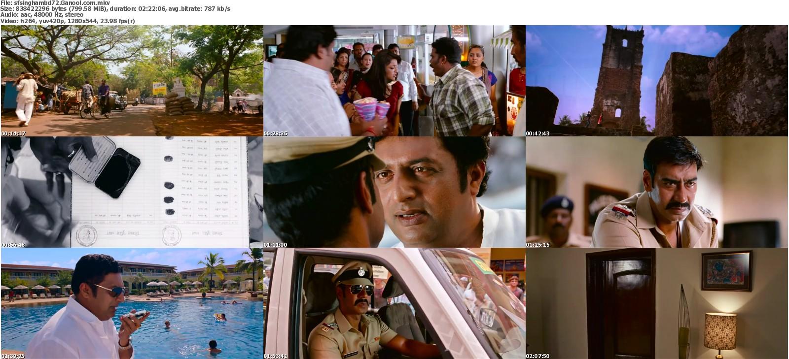 Image result for Singham (2011) screenshot