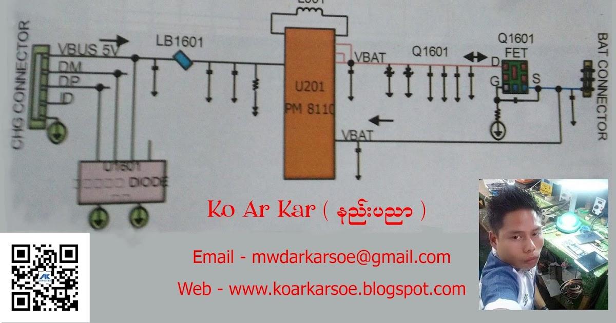 PM8110 Power Ic              Huawei    G6      C8816                 Charging