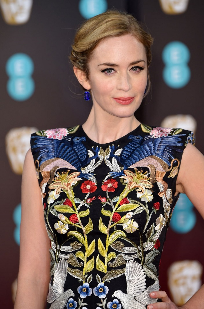 Emily Blunt at BAFTA Awards in London
