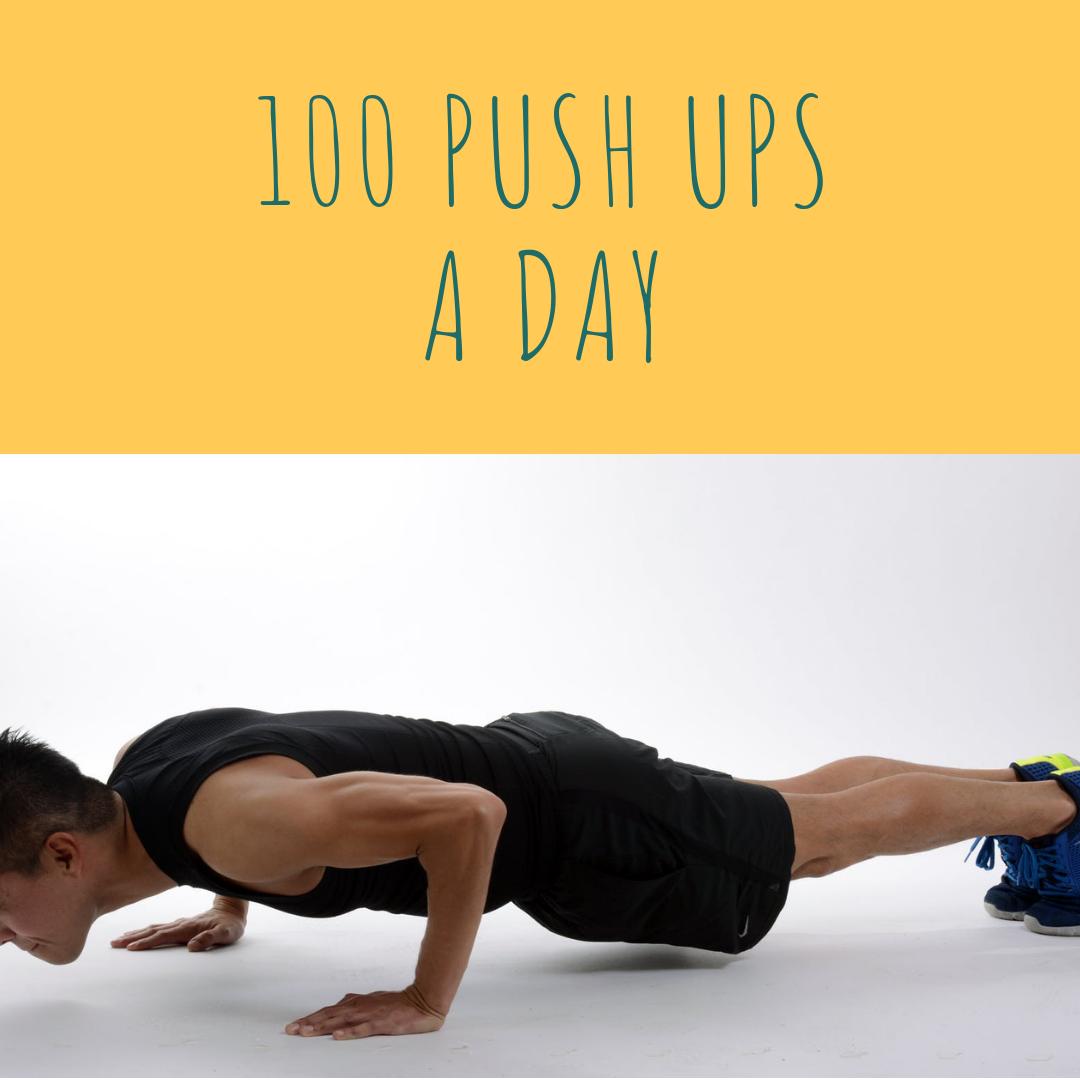 Korean English for Non-Korean: Niche workout project: 100 pushups a