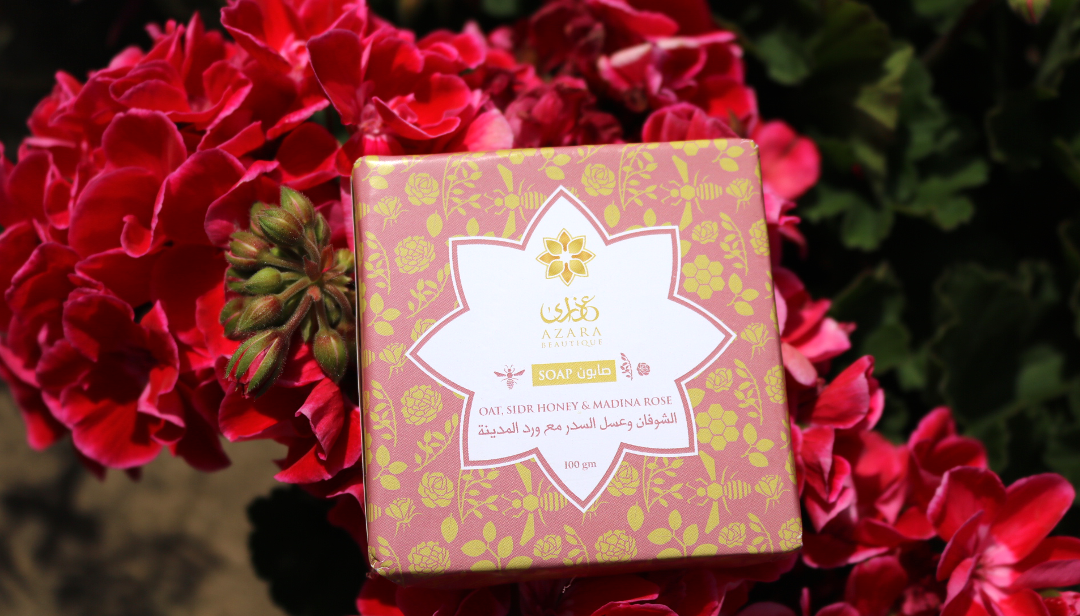 AZARA Beautique Oat, Sidr Honey & Madina Rose Soap review