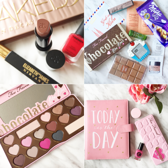 bbloggers, bbloggersca, beauty, instagram, instamonth, lbloggers, eccolo, planner, germany, gift sway, too faced, chocolate bon bons, arbonne, pink