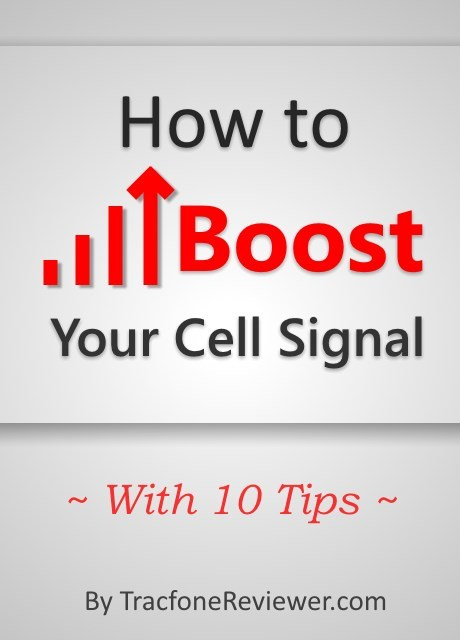TracfoneReviewer Tips For Improving Your Tracfone Cell Signal - Cellular signal strength map
