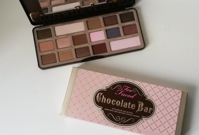 Glossybox Too Faced chocolate bar