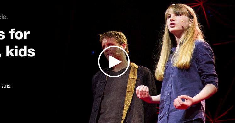 8 Great TED Talks to Watch with Your Kids