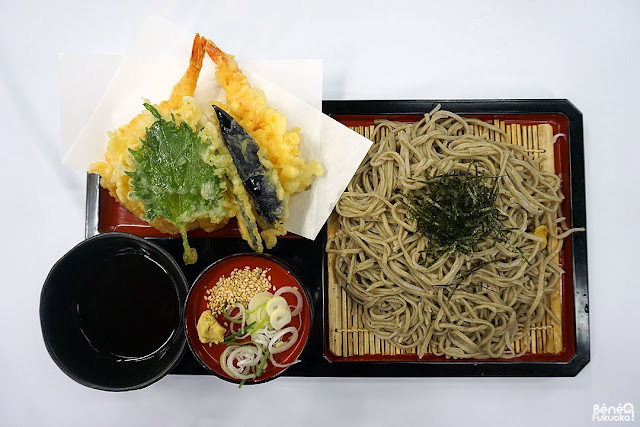 Yummy soba and tempura at Yaba Topia