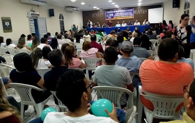 Plenária Popular Contra o Golpe afirma apoio a Prefeito interino de Patos