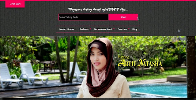 tudung natasha on-line blog