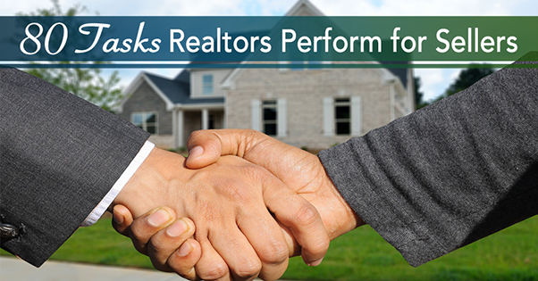 Tasks Realtors Perform for Home Sellers