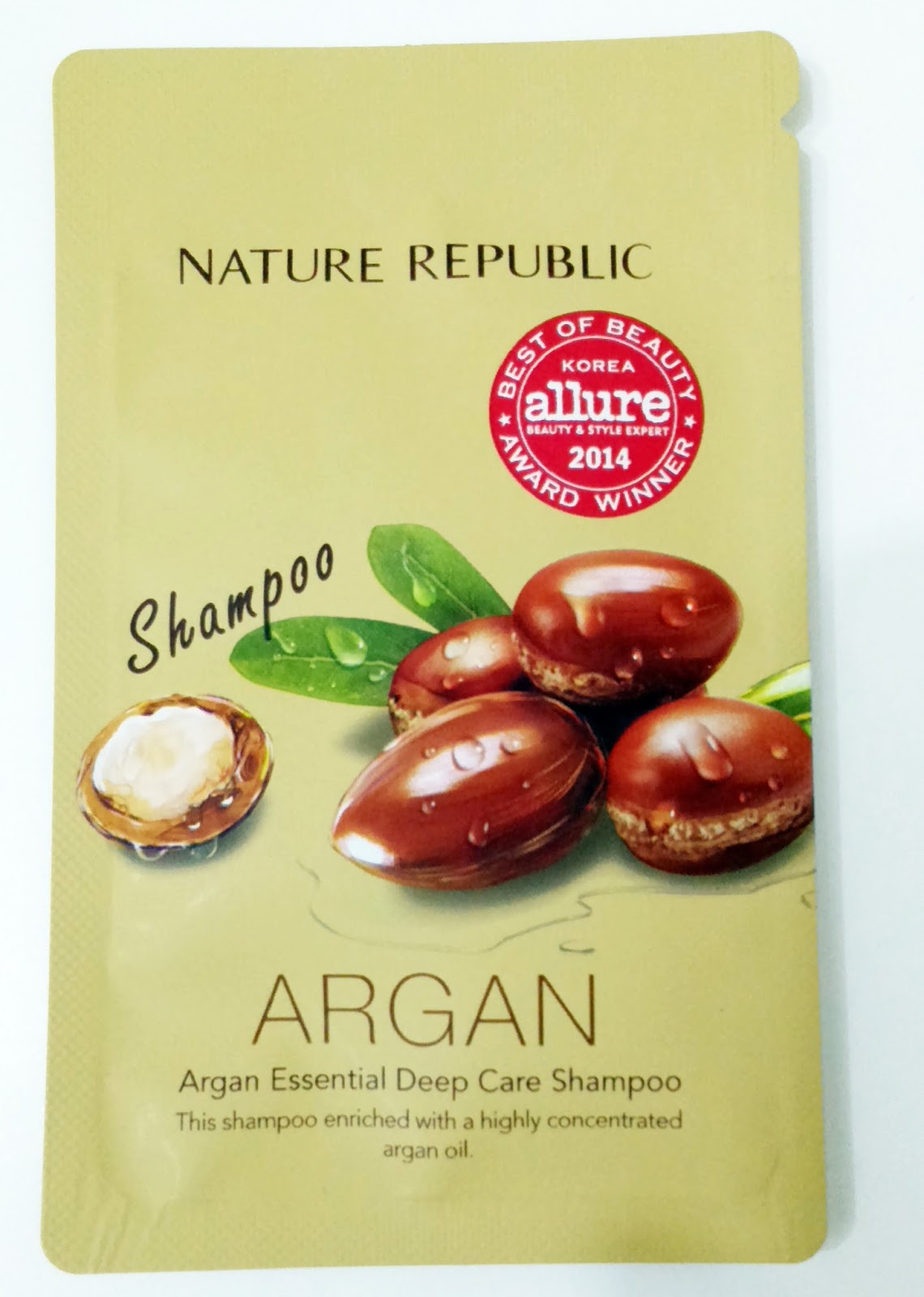 Argan Nature Republic Hair Shampoo