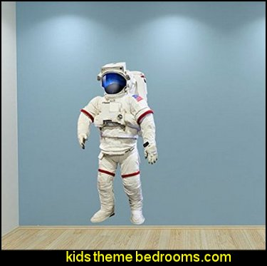 Astronaut Nasa Space Wall Sticker Bedroom Decal Kids Playroom Decoration
