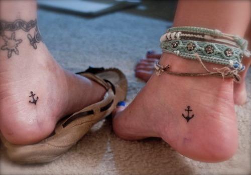 anchor foot tattoos women fashion  lifestyles
