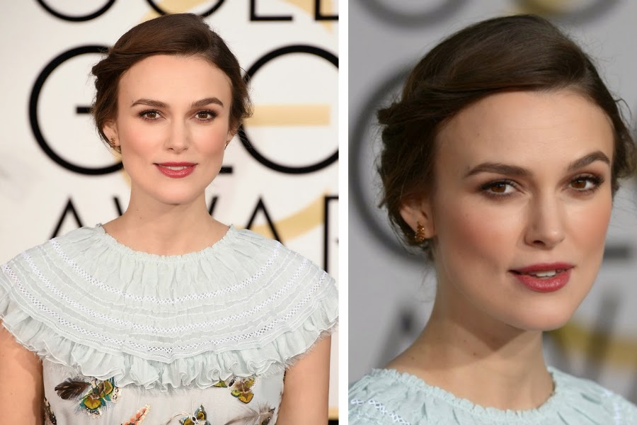 Keira Knightley Golden Globe Awards 2015