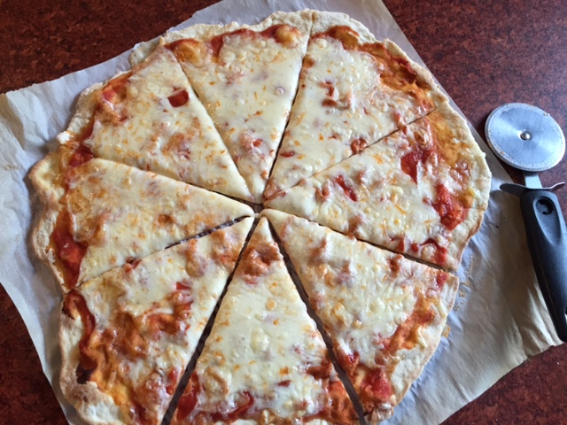 how to make pizza crust crispy in oven