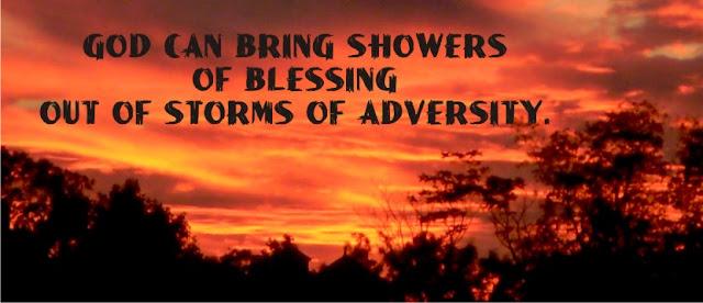 shower of blessings christians journey