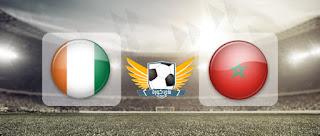 مباراة المغرب وساحل العاج