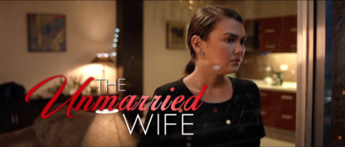 The Unmarried Wife 2016 Star Cinema movie title card directed by Maryo J. delos Reyes starring Angelica Panganiban, Dingdong Dantes, and Paulo Avelino showing on November 16, 2016