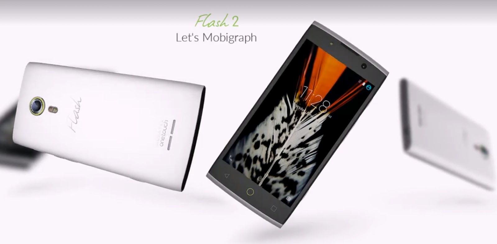 Alcatel Flash 2 Mica White