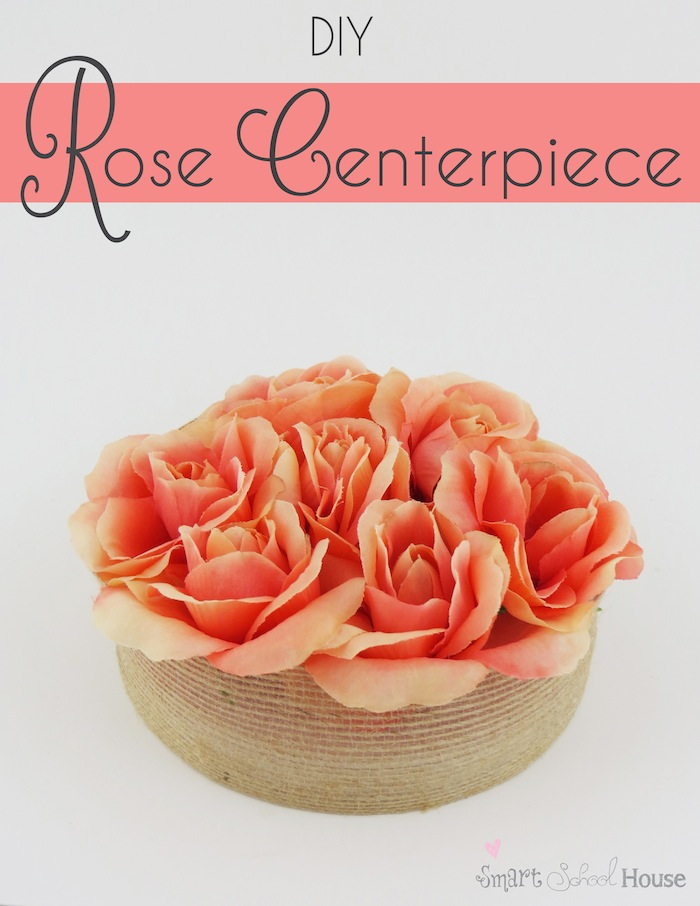 How to make a Rose Centerpiece #DIY