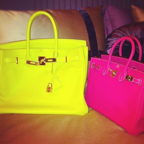 Trendsfor 2014: Bright-colored Bags